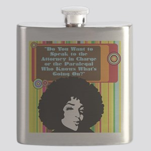 Paralegal In Charge [Groovy Edition] Flask